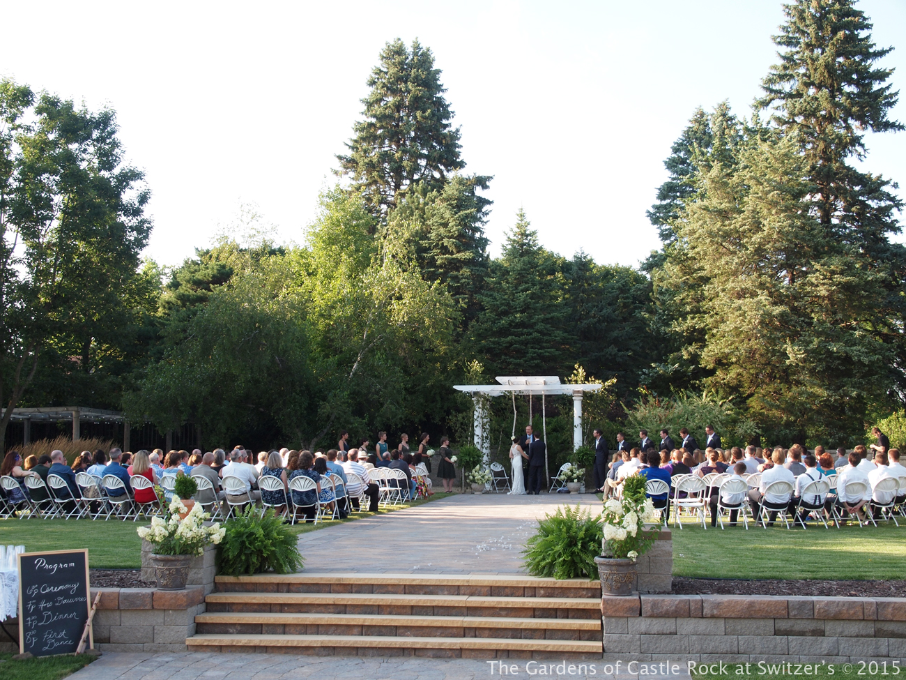 the gardens of castle rock minnesota wedding venue