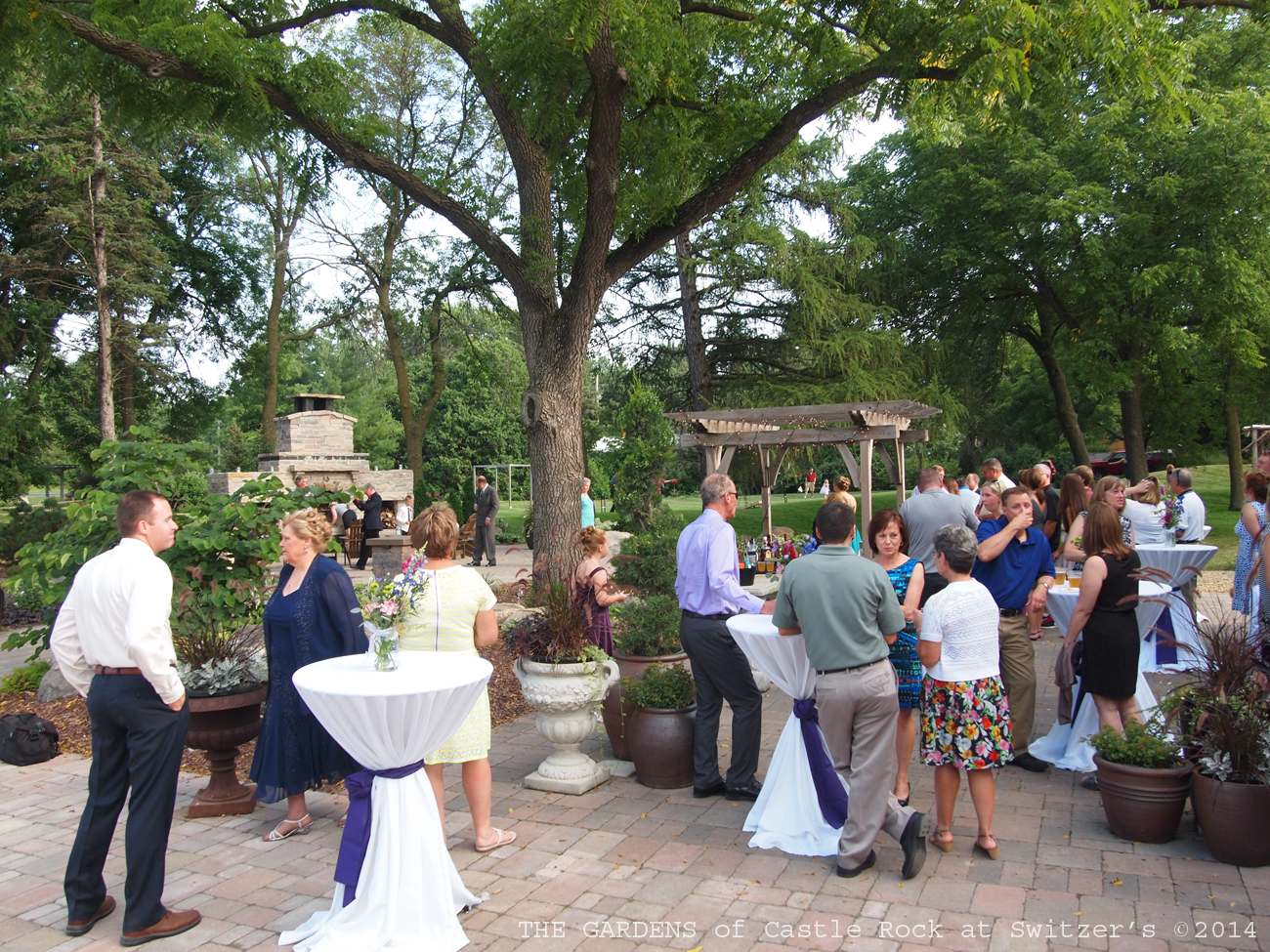 The Gardens Of Castle Rock: The Reception At The Gardens