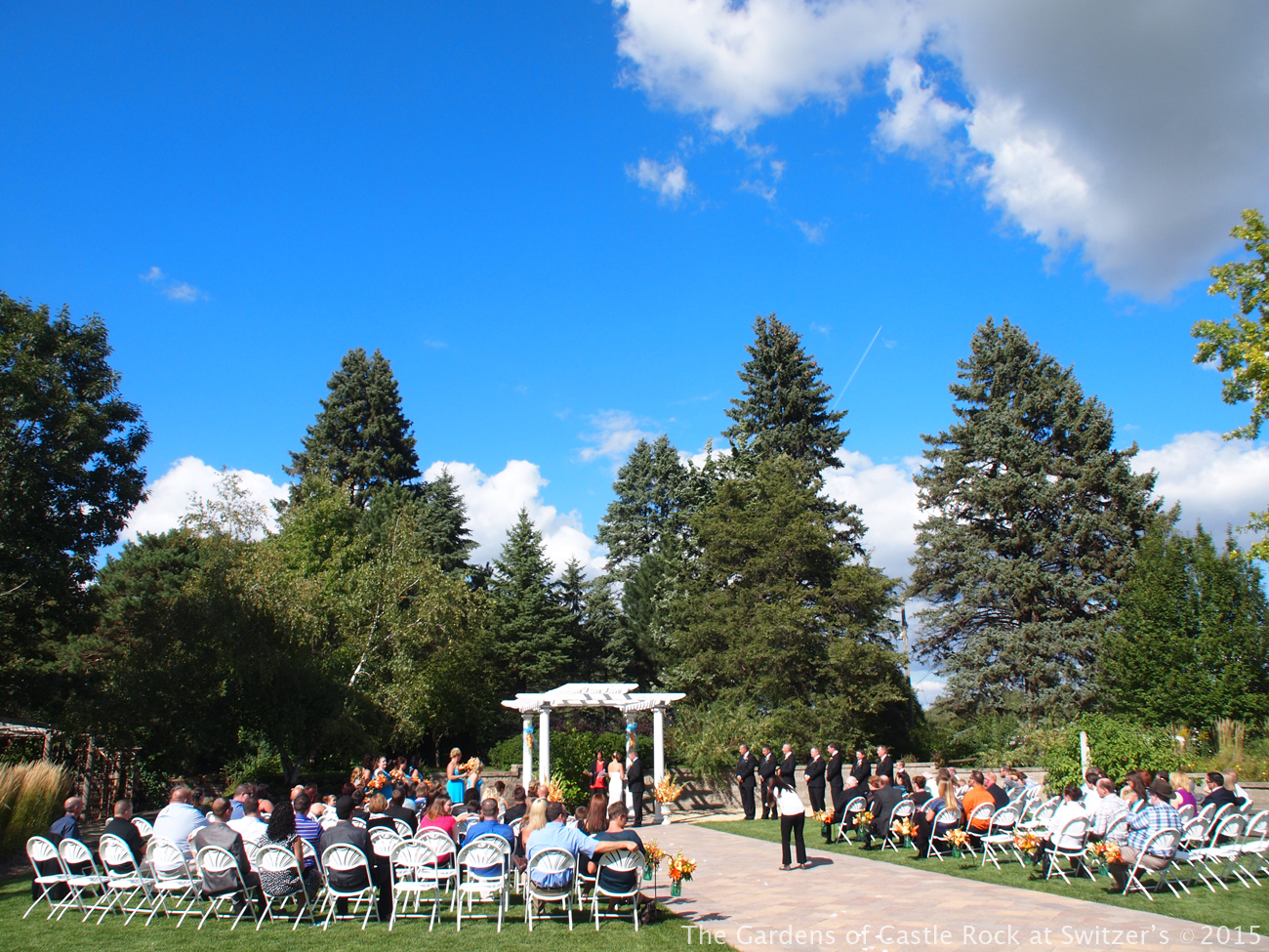 Shanna & Jeremy at The Gardens of Castle Rock - Minnesota Garden Wedding