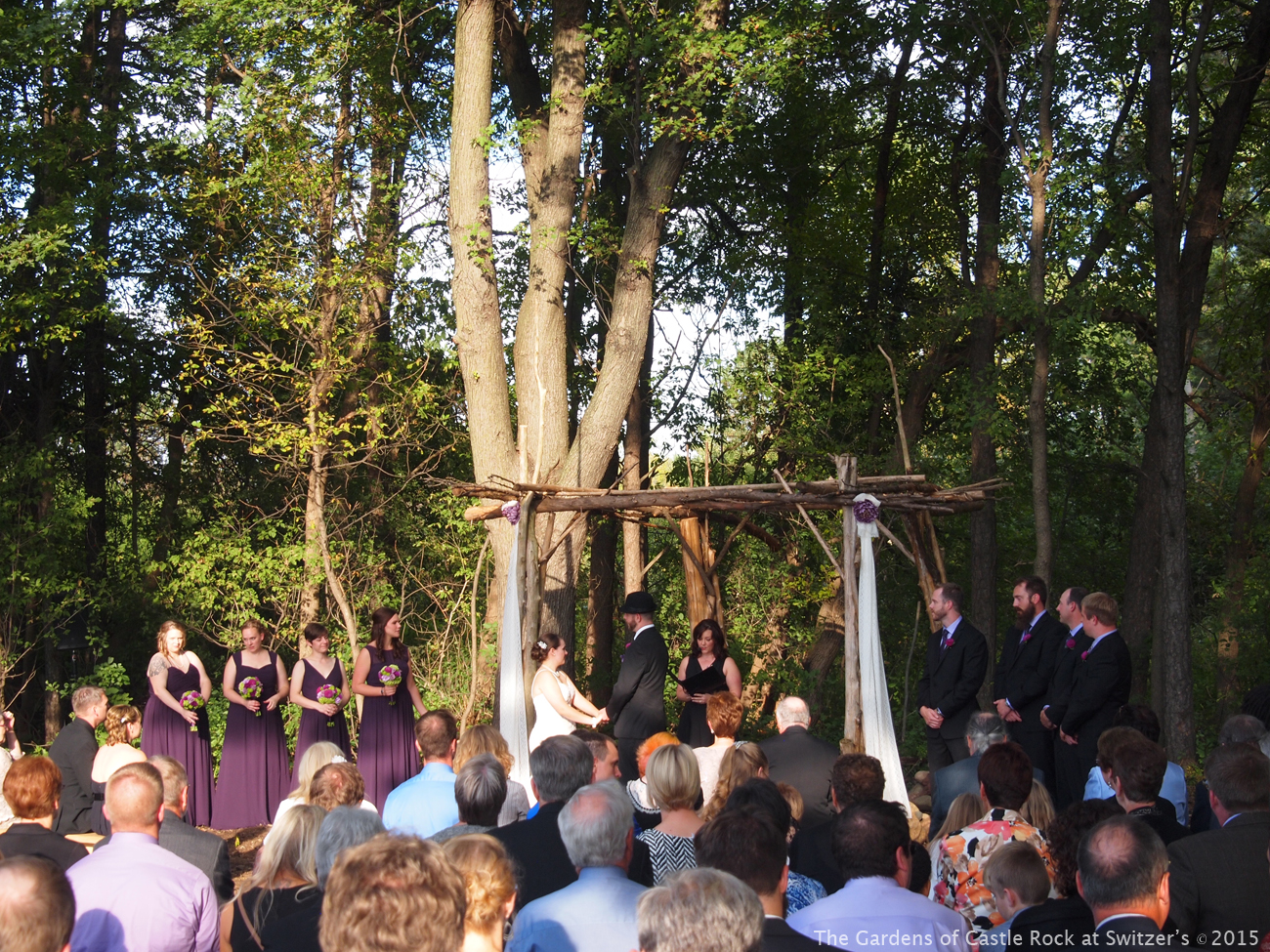 The Gardens Of Castle Rock In Love With Fall Wedding