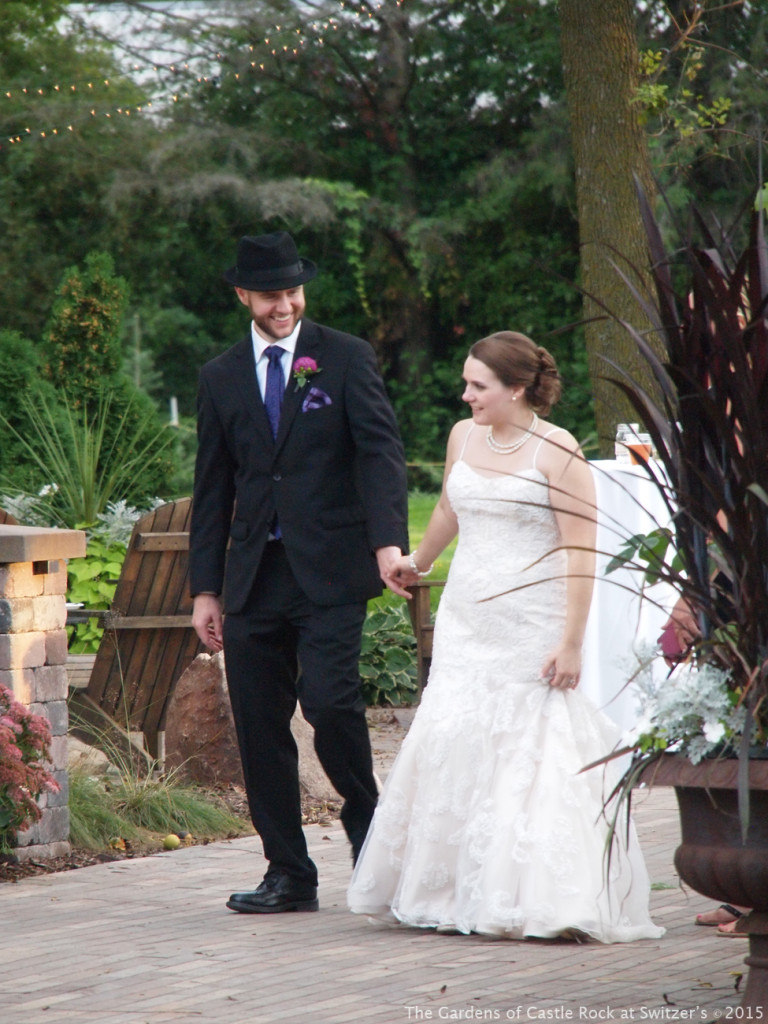 Beautiful Fall Wedding ~ Wedding in the Woods at The Gardens