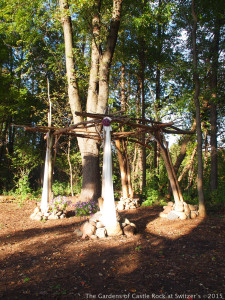 Boho Wedding Arch ~ Wedding in the Woods at The Gardens
