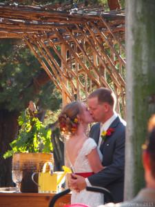 Fall Lath House Wedding - Carissa & Randy at The Gardens of Castle Rock - Minnesota Wedding Venue