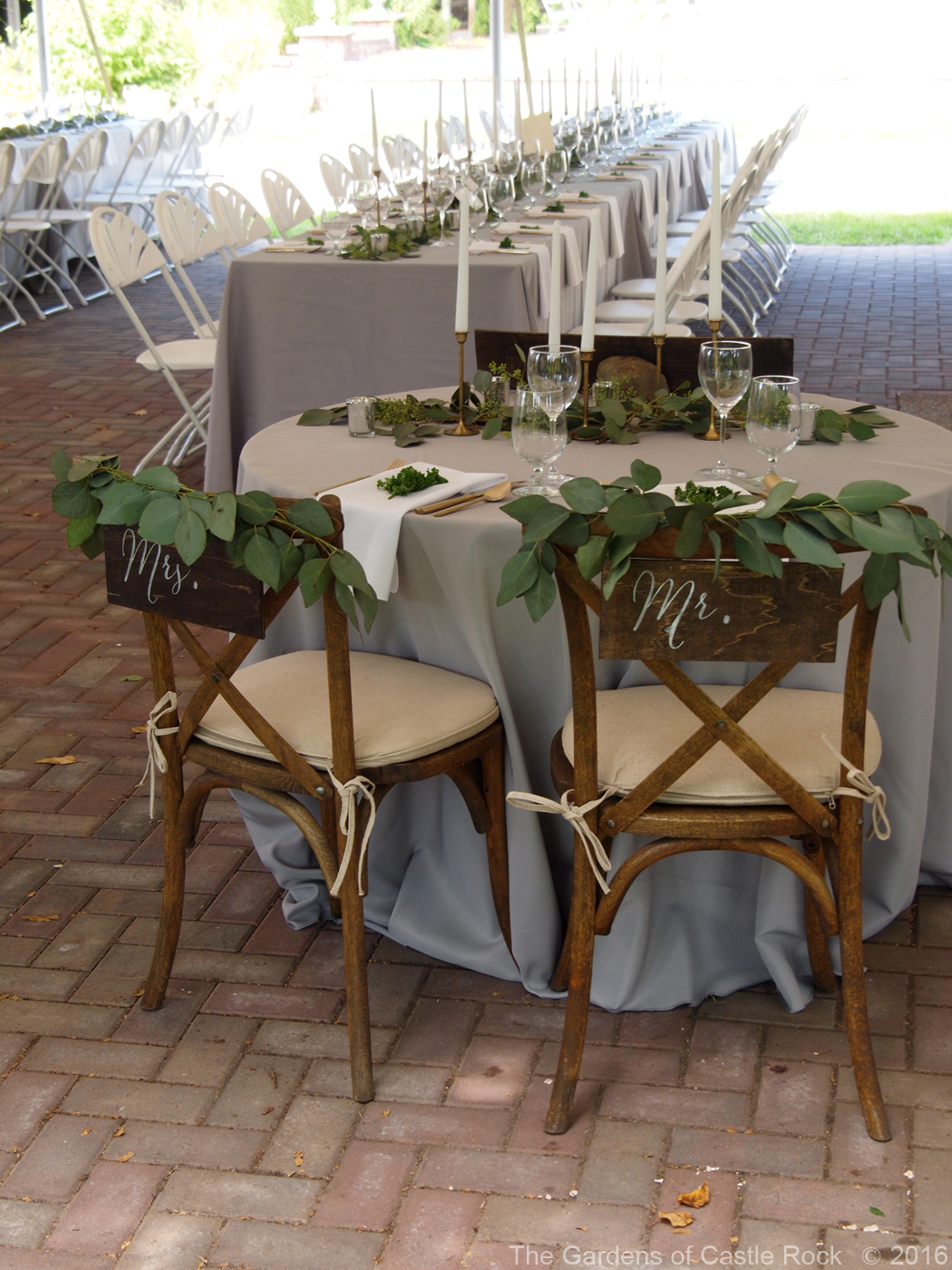 The Gardens of Castle Rock | Wedding Signage: An Essential Feature ...