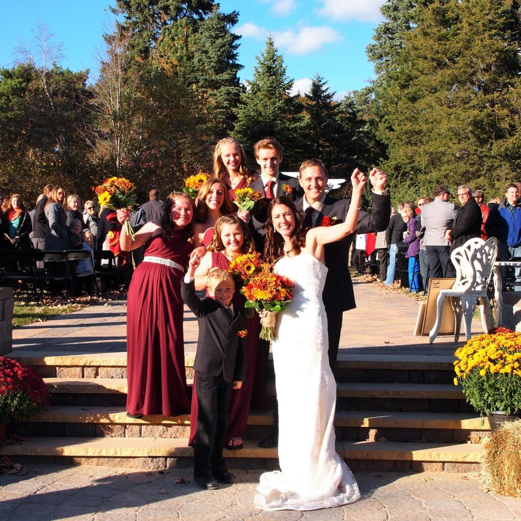 Beautiful Minnesota Wedding on a Perfect October Day #TheGardenofCR #MNWedding #Wedding ~ Heather and Chris at The Gardens of Castle Rock ~ The Minnesota Wedding and Event Center