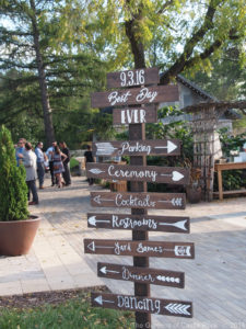 Wedding Signage #WeddingSignage #TheGardensofCR #MNWedding ~ Best Day Ever - Nicole & Zack at The Gardens of Castle ~ Woodsy Wedding Minnesota Style