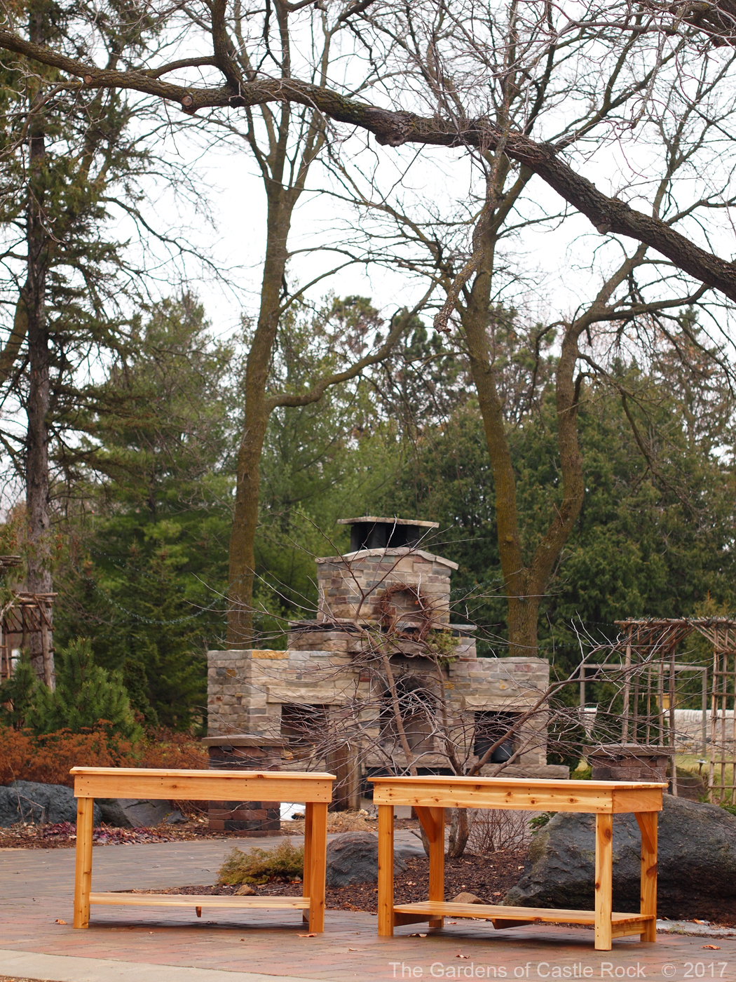 The Gardens of Castle Rock | Mid-Height Garden Tables ~ Perfect for ...
