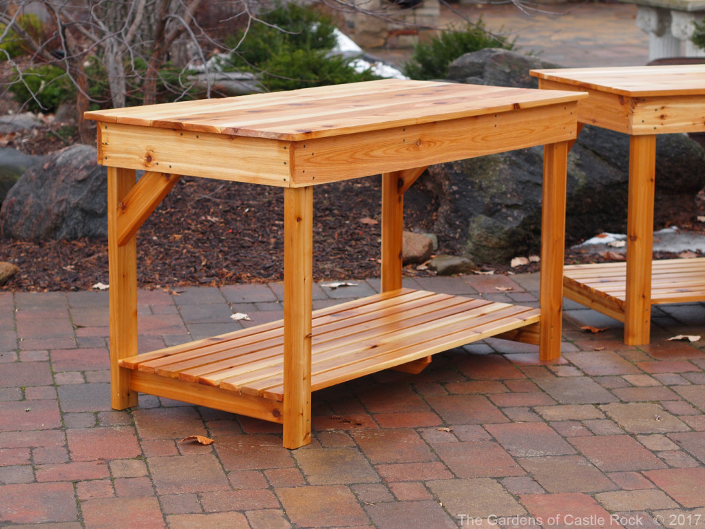 The Gardens of Castle Rock - Mid Height Garden Tables
