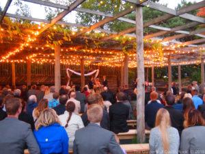 Friday Night Wedding Ceremony ~ Britta & Ryan at The Gardens of Castle Rock ~ Minnesota Outdoor Wedding Venue