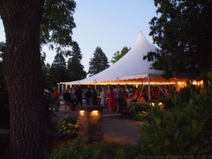 Friday night wedding reception ~ Kristin & Brandon at The Gardens of Castle Rock ~ Minnesota Wedding Reception
