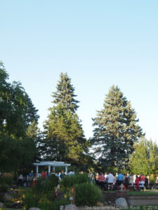 Friday late afternoon wedding ceremony ~ Raschelle & Jarrod at The Gardens of Castle Rock ~ Minnesota Outdoor Wedding Venue