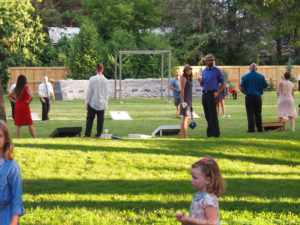 The Gardens of Castle Rock ~ Minnesota Outdoor Wedding Venue - Outdoor Games for your Wedding