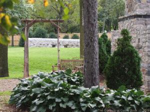 Kristian & Zackary at The Gardens of Castle Rock ~ Minnesota Garden Wedding ~ Stone Walls on The Lawn