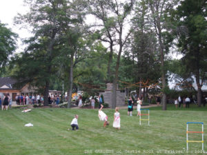 Maggie & Jarred at The Gardens - Wedding Day Fun ~ Outdoor Games for your Wedding