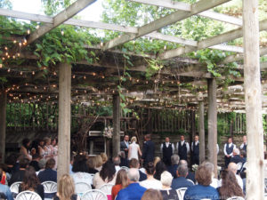 Megan & Justin at The Gardens of Castle Rock ~ Minnesota Outdoor Wedding in the Lath House
