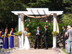 Michelle & Brian at The Gardens of Castle Rock ~ Minnesota Garden Wedding Party
