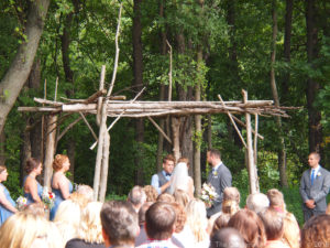 Nicole & Zack at The Gardens of Castle ~ Woodsy Wedding Minnesota Style
