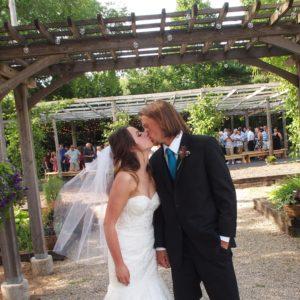 Julia & Derek at The Gardens of Castle Rock
