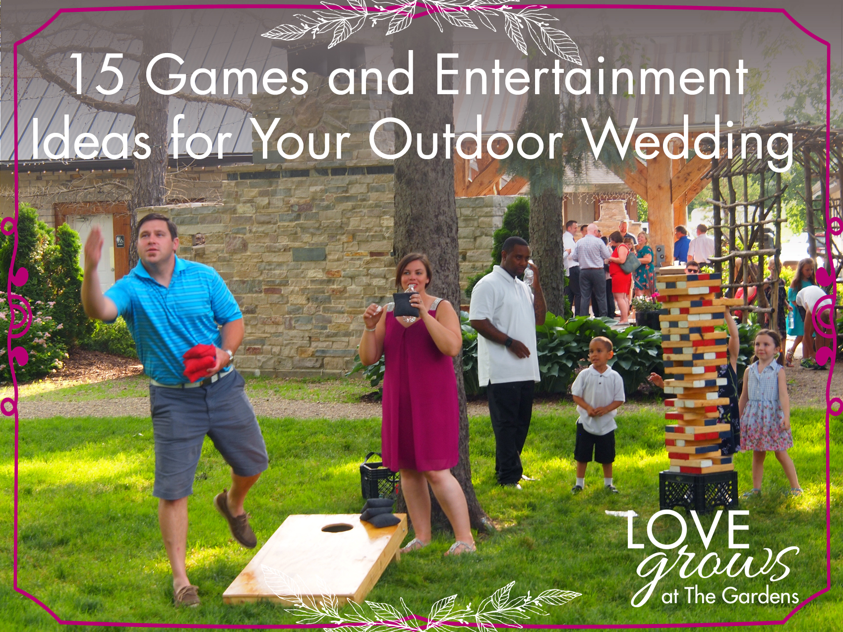 15 Games And Entertainment Ideas For Your Outdoor Wedding